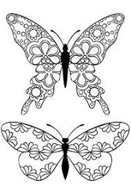 butterfly coloring google coloring sheets