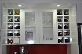 kitchen cabinet wine rack sosfund