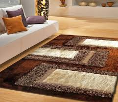 Brown Area Rugs Awesome Area Rug Shag Rugs Home Interior Design Intended For