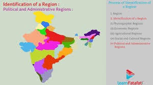 India Regions Map by Physical Divisions Of India Standard 10 Geography Part 5 Process