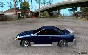 cars nissan skyline nissan skyline r32 drift car tuning for gta san andreas