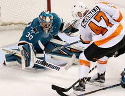 Map Of Sap Center San Jose by Aaron Dell Earns First Shutout As Sharks Beat Flyers 2 0