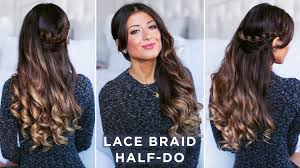 hairstyles youtube lace braid half do hairstyle youtube