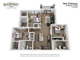 tuscaloosa al apartments riverfront village floor plans