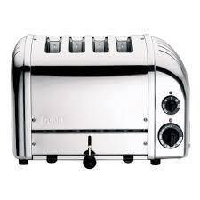 sur la table toaster oven dualit vario four slice toaster sur la table