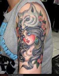 wolf tattoos pictures page 3