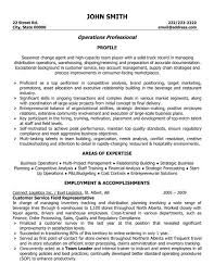 resume template cover letter examples for customer service inside