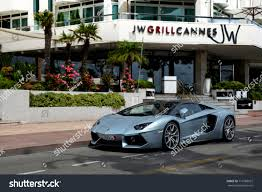 lambo aventador convertible cannes france 140817 lamborghini aventador roadster stock photo