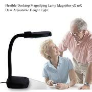 led lighted desk magnifying l magnifying l