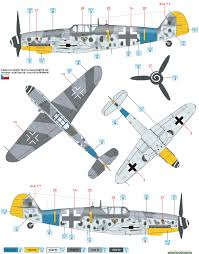 messerschmitt bf 109g 6 jg 54 color profile and paint guide