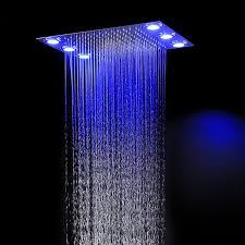 high end shower embeded ceiling remote color
