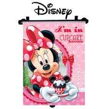 disney minnie car window roller blind sun shade for children kids
