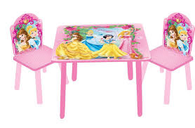 disney princess frozen furniture table and chairs set children kids new free pp