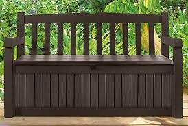 Outdoor Storage Box Bench Outdoor Storage Box Patio Bench Chair Deck Furniture Garden