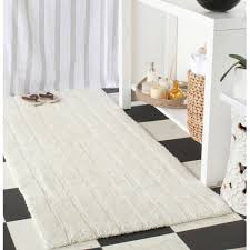Cotton Bathroom Rugs Safavieh Plush Master Cotton Bath Rugs 2pk Walmart