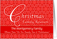 holiday specific family reunion invitations from greeting card