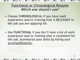 Functional Resume Vs Chronological What To Include In A Resume Skills Section Myperfectresume Com