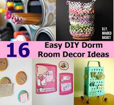 Easy Room Decor Easy Room Diys For Diy Decor Mistanno
