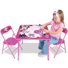 minnie mouse kids table and chairs 11737