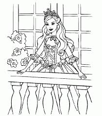 barbie pictures print kids coloring