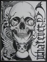 gothic skull tattoo idea best tattoo designs gothic skull tattoo idea