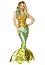 mermaid tails for halloween womens siren of the sea costume