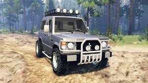 pajero jeep 2016 mitsubishi pajero i v2 0 for spin tires