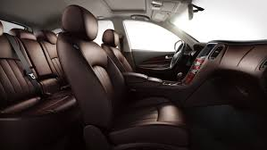 2015 luxury trucks 2015 infiniti qx50 luxury crossover interior premium chestnut