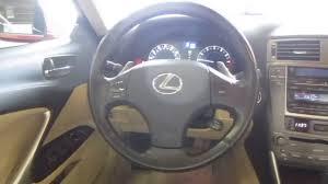 lexus is 250 miami fl 2006 lexus is250 red stock 000978 interior youtube
