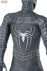 product announcement hottoys spider man 3 spider man black