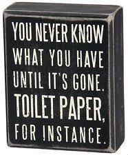 Home Decor Signs And Plaques Wood Toilet Rustic Primitive Home Décor Plaques U0026 Signs Ebay
