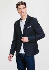 costume bleu mariage costume homme veste blazer pantalon costume jules