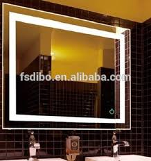 Hotel Bathroom Mirrors by 6000k 5050 Led Strips Illuminated Backlit Mirror For Canada Hilton