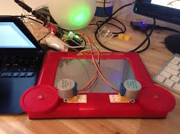 etch a pi u2013 etch a sketch with the raspberrypi u2013 raspberry pi pod