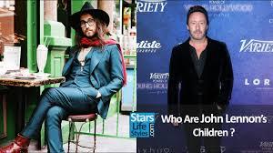 biography of john lennon in the beatles who are john lennon s children 2 sons the beatles singer youtube