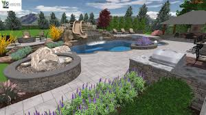 Free Pool Design Software by Garden Design With Small Inground Swimming Pool Carmelus Cottage