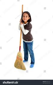 Cleaning The House by Cleaning House Broom Stock Photo 20261233 Shutterstock