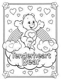 share care printable care bears coloring pages care