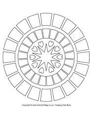 rangoli patterns using mathematical shapes rangoli colouring pages