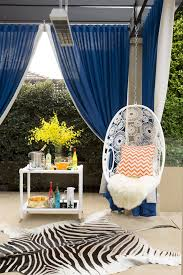 Enclosed Egg Chair Hanging Egg Chair Patio Eclectic With Old Hollywood Glamour