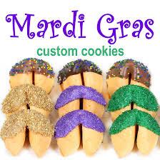 mardi gras cookies mardi gras fortune cookies chocolate covered fortune cookies
