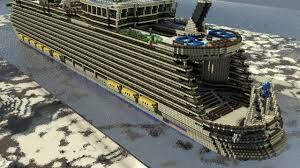 i rendered a giant cruise ship map in 3d this is what it looks