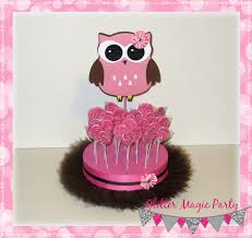 Owl Theme by Pink Owl Stand Owl Party Lollipops Glittermagicparty