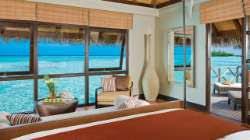 chambre sur pilotis maldives bungalow sur pilotis aux maldives four seasons resort maldives