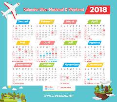 Kalender 2018 Hari Libur Indonesia Kalender 2018 Indonesia Beserta Liburan Kejepit A Pradana Net