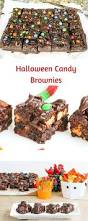 halloween candy cake halloween candy brownies sundaysupper desserts required