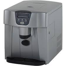 avanti countertop icemaker water dispenser silver 12 1 4 x 14 1