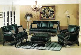 Traditional Leather Sofa Set Y Traditional Sofas - Hunter green leather sofa