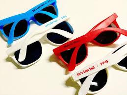 wedding favor sunglasses 10 personalized bachelorette sunglass favor wedding favor