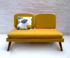 mustard yellow mid century mod couch love love love for the